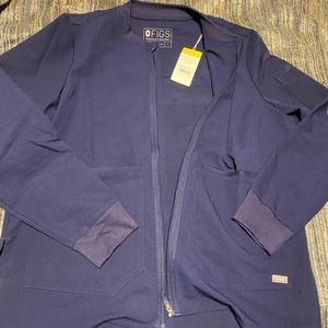 FIGs scrub top jacket. NWT. Never used!